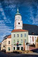 altstadt von wurzen mit wenzeslaikirche, deutschland