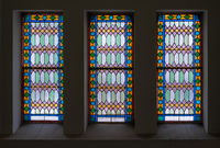 stained glass window for interior design