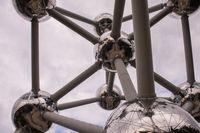 photo of atomium building in Brussels