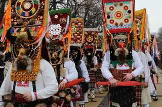 Masquerade festival Surva