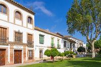 Historical buildings at Campo Santo de los Mártires Square, Cordoba, Andalusia, Spain, Europe