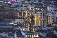 cityscapes of Lisbon IX