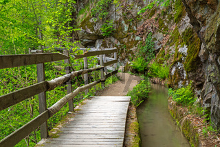 Maiser Waalweg im Passeiertal, Suedtirol