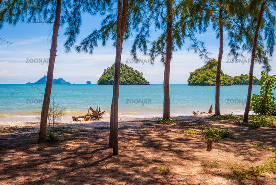 Krabi beach islands