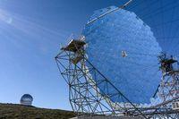 MAGIC-Teleskop auf La Palma
