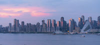 Sunset Light over Midtown Manhattan from Across The River