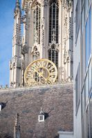 Gothic tower clock