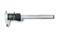 Digital and manual vernier caliper.