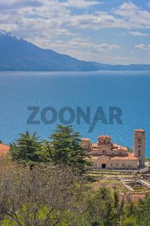 Plaosnik church above Lake Ohrid