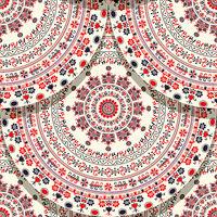 Hungarian motif tile 14