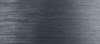 Dark panoramic brushed aluminum background