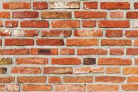 Old weathered bricks wall