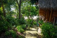 Traditional tropical hut in Koh Lipe, Thailand