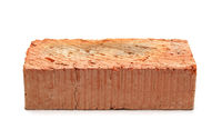 Single red clay brick