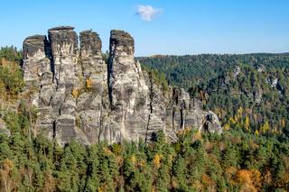 Bilder aus dem Elbsandsteingebirge in Sachsen