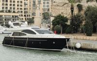 Yacht Moored At Portomaso Marina, St.Julians, Malta