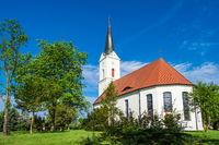 Kirche in Zerkwitz bei Lübbenau