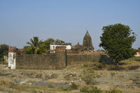 Vitthal temple and its surrounding fortification wall, Palashi, Parner, Ahmednagar
