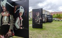"Open air exhibition ""Hommage to humanity"""