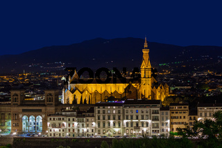 Florence cityscape - Italy