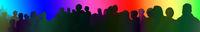 regenbogen menschen zusammen veranstaltung event