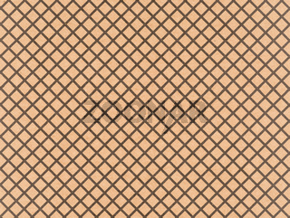 Brown craft paper with a black crosshatch pattern