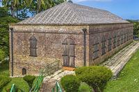 Old Barracks, Fort King George, Tobago, West Indies