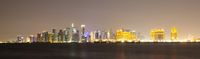 West Bay area of Doha, Qatar