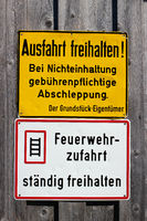 Signs in Allgaeu. 006