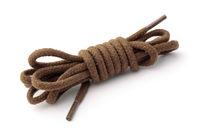 Cotton brown shoelaces