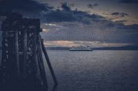 Washington State Ferries and the Olympic Mountains