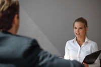Job business interview