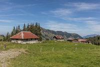 Alpine Farm, Nidwalden, Switzerland, Europe
