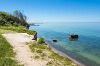 Steilküste an der Ostsee auf dem Fischland-Darß