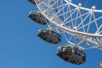 Three Pods on London Eye