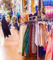 Skirts dresses Tehran Grand Bazaar