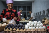 Local egg vendor from Xian