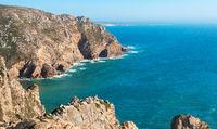 Atlantic coast near Cape Roca. Portugal