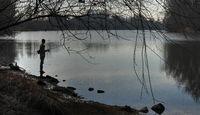 Fisherman on the Old Rhine