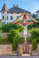 Christian wayside shrine in South Tyrol