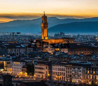 View of Florence cityscape