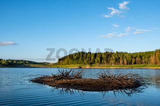 Talsperre Mandelholz bei Elend im Harz