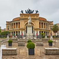 Politeama Theatre in Palermo