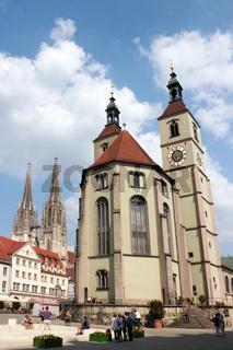 Neupfarrkirche und Dom St. Peter