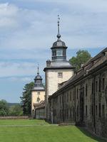 Höxter - Schloss Corvey, Uhrenturm, Deutschland