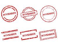 November Stempel - November stamps