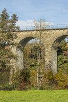 Railway bridge near Diessenhofen, Switzerland