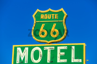 Route 6 Motel Sign