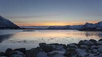 Abenstimmung auf den Lofoten, Norwegen