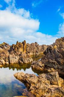 Rocks of the Atlantic coast